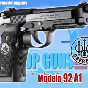 PISTOLA MARCA BERETTA MODELO 92A1, CALIBRE x19mm