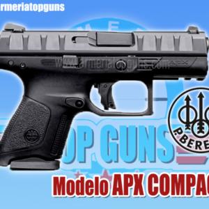 PISTOLA MARCA BERETTA MODELO APX COMPACT, CALIBRE 9x19mm