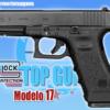 Pistola marca GLOCK modelo 17 Gen3
