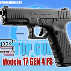 PISTOLA MARCA GLOCK MODELO 17 GEN4 SF