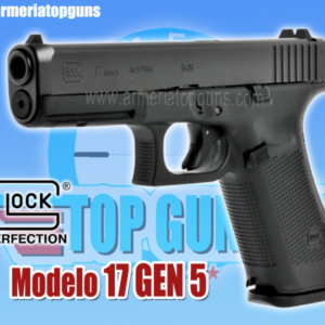 PISTOLA MARCA GLOCK MODELO 17 GEN5 COMBO TRITIUM