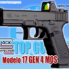 PISTOLA MARCA GLOCK MODELO 17 GEN4 MOS