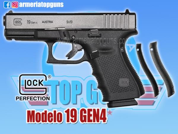 PISTOLA MARCA GLOCK MODELO 19 GEN4