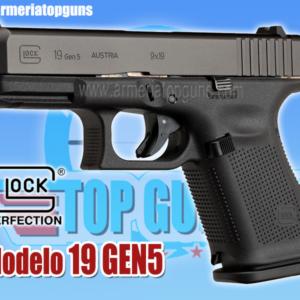 PISTOLA MARCA GLOCK MODELO 19 GEN5