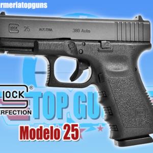 Pistola marca GLOCK modelo 25