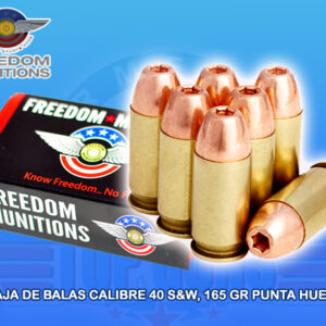 blas calibre .40 marca Freedom, Armeria Top Guns