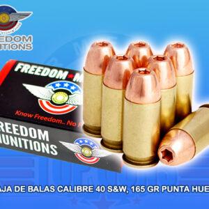 blas calibre .40 marca Freedom, Armeria Top Guns