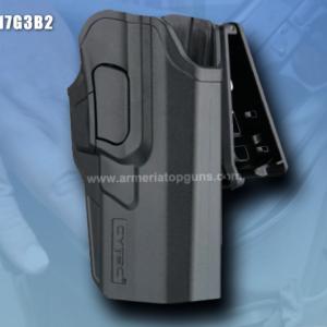 FUNDA R-DEFENDER GENERACION 3 PARA GLOCK CON BASE CLIP Se Adapta A Glock modelos 17,22, 31(GEN 1,2,3,4,5)