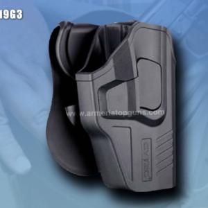 FUNDA R-DEFENDER GENERACION 3 PARA GLOCK Se Adapta A Glock modelos 19,23,25,32(GEN 1,2,3,4,5)