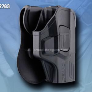 FUNDA R-DEFENDER GENERACION 3 PARA GLOCK Se Adapta A Glock modelos 27(GEN 1,2,3,4,5)