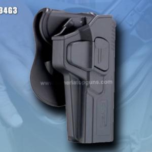 FUNDA R-DEFENDER GENERACION 3 PARA GLOCK Se Adapta A Glock modelos 34(GEN 1,2,3,4,5)