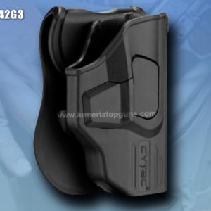 FUNDA R-DEFENDER GENERACION 3 PARA GLOCK Se Adapta A Glock modelos 42(GEN 1,2,3,4,5)