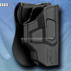FUNDA R-DEFENDER GENERACION 3 PARA GLOCK Se Adapta A Glock modelos 43(GEN 1,2,3,4,5)