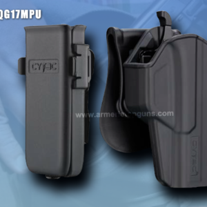 COMBO FUNDA T-THUMBSMART Se Adapta A Glock Gen5 modelos 17,22, 31(GEN 1,2,3,4) MAS UNA PORTA CACERINA UNIVERSAL